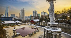 Set largely around modern Seoul, the action also includes excursions into a dense and vividly described countryside