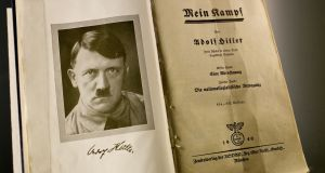 "Mein Kampf: ""At least with authoritative and objective contextual information, its republication will contribute to that education; it will also serve as a reminder of what a turgid, boring, rambling and terrible read it is."" Photo: Russ Juskalian/The New York Times"