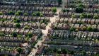 A north London suburb: the city's  biggest homebuilder, Berkeley Group, saw profits increase to £242.3 million. Photograph:  Dominic Lipinski/PA Wire