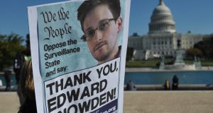 Edward Snowden: classified documents he published  revealed the way global surveillance programmes work. Photograph: Mandel Ngan/AFP/Getty Images