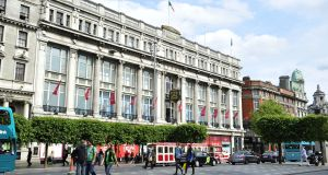 Clerys on O'Connell Street – its closure in June was a shock event in retail market