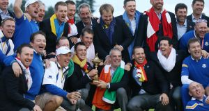 Can Europe retain the Ryder Cup at Hezeltine? You could be there find out. Photo: Getty Images
