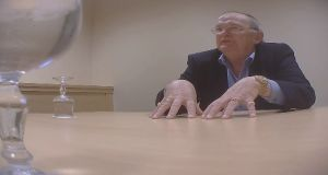 Councillor Hugh Mc Elvaney from Monaghan filmed in a meeting with an undercover RTÉ reporter.