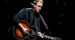 "Gavin James: ""I'd write songs during the day, and then try them out in front of a crowd at night – my songs would always sink or swim."" Photograph: Tommaso Boddi/Getty"