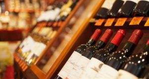 Minimum price of a bottle of wine is expected to be set at about €7.60 under new law. File photograph: Thinkstock