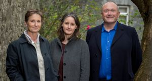 Directors of McCullough Mulvin Architects: Valerie Mulvin, Ruth O'Herlihy and Niall McCullough. Photograph: Dylan Vaughan