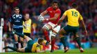 Wales number eight Taulupe Faletau is to join Bath at the end of the season. Photograph: Getty