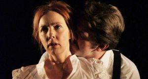 Lisa Lambe and Rory Musgrave in The Dead. Photograph: Tom Swift