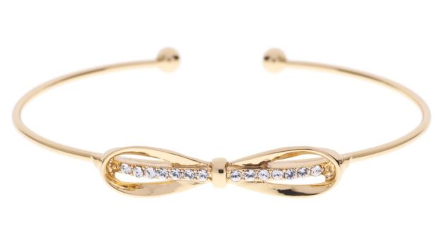 Ted Baker Gem Bangle 39 Also Available In Silver And Rose Gold Finish
