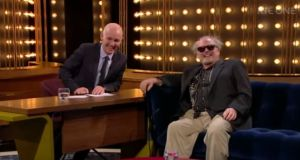 Ray D'Arcy's interview with Jack Nicholson impersonator Norman Deesing on The Ray D'Arcy Show made the Top 10 list. File photograph: RTÉ