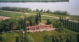 The 300-acre Venetian Cazen estate, which in the early 1800s was the secret love nest of Lord Byron and the banished Countess Guiccioli
