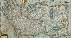 A map of Ireland from the Richard S J Clarke collection of cartography, for auction at Adam's
