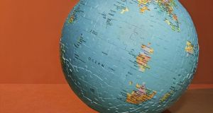 Detail from Globe by Michael Le Belhomme, the main prizewinner of the Solas Prize