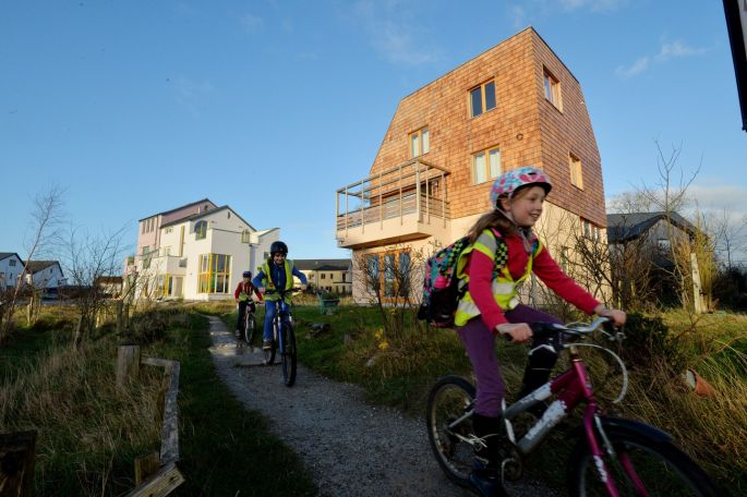 Cloughjordan ecovillage. Photograph: Alan Betson/The Irish Times