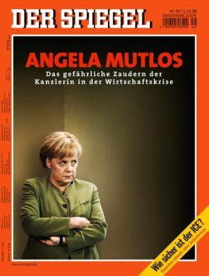 Angela merkel cover star for Spiegel cover 2018