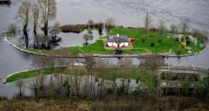 Flooding along the banks of the Shannon River near Athlone Town. Photograph: Brenda Fitzsimons / THE IRISH TIMES