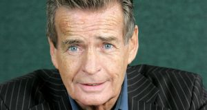 Scottish writer and acclaimed poet William McIlvanney. Photograph: Getty Images