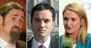 "Independent Luke ""Ming"" Flanagan (left) returned €1,144.25;  Labour's John Lyons  reimbursed €1,285.33 and Fine Gael TD Helen McEntee repaid €1,675.88."