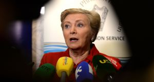 Minister for Justice Frances Fitzgerald is to bring to Cabinet a memo requesting the early signature of the Garda Síochána Bill 2015 into law. File photograph: Cyril Byrne/The Irish Times