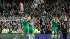 Republic of Ireland fans can find tickets on the official Uefa website. Photograph: Cathal Noonan/Inpho