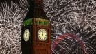 Big Ben strikes in the new year on January 1st in London – or is it? Photograph: Getty Images