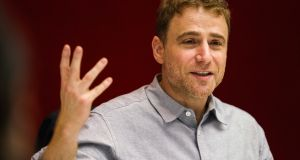 Stewart Butterfield, co-founder and chief executive officer of Slack Technologies. Slack is forming an $80 million venture fund to invest in other startups.