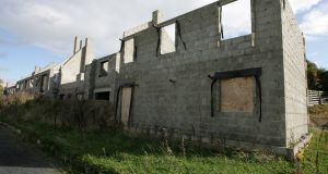 Some 176 unfinished housing  developments in the State are completely vacant. File photograph: Eric Luke/The Irish Times