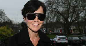 Cranberries singer Dolores O'Riordan arrives at Ennis District Court. Photograph: Niall Carson/PA Wire