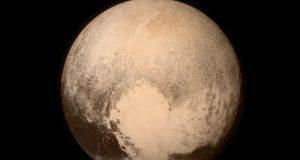 Particularly captivating was a heart-shaped feature, estimated to be 1,600km across at its widest point, on Pluto's surface