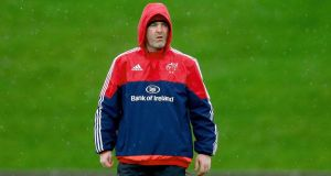 Munster coach Anthony Foley will remain at the province until the end of the 2016-17 season at least. Photograph: Donall Farmer/Inpho