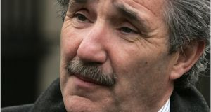 "Independent TD John Halligan: ""The evidence is that Article 40.3.3 does not stop Irish abortions, it merely exports our problem."" Photograph: Dara Mac Dónaill/The Irish Times"