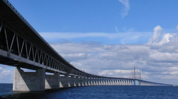 "The landmark Oresund Bridge. The 11km structure is famous thanks to ""The Bridge"" crime series but, since opening in 2000, has become a steel-and-concrete embodiment of the Schengen ideal of passport-free travel."