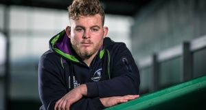 Connacht's Finlay Bealham, who has relations from Ireland. Photograph: Cathal Noonan/Inpho