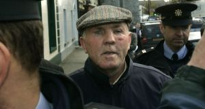 "Thomas ""Slab"" Murphy after appearing in court in  2007: Murphy was once described as ""a good republican"" by Sinn Féin leader Gerry Adams. Photograph: Dara Mac Dónaill/The Irish Times"
