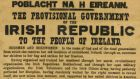 An original copy of the 1916 Proclamation of the Irish Republic sold for £305,000 (€420,000)