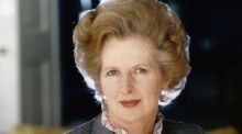 Margaret Thatcher: the packed auction in central London  attracted telephone and online bids from 41 countries worldwide.   Photograph:  © Bettmann/CORBIS