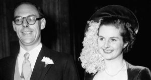 The dress Margaret Thatcher wore to marry Denis Thatcher in 1951 sold for £25,000