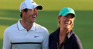 Rory McIlroy has praised the calming influence of his new fiancee Erica Stoll. Photograph: Getty