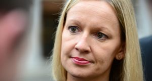 Renua leader Lucinda Creighton says Gerry Adams  should distance himself from Thomas 'Slab' Murphy.  Photograph: Dara Mac Donaill/The Irish Times