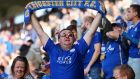 Leicester fans have created a wonderful atmosphere at the King Power Stadium this season. Photograph: Catherine Ivill/Getty Images