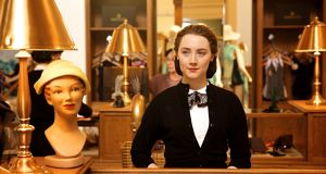 Saoirse Ronan in Brooklyn: There is no significant British investment in Ronan's frame. The BBC has not financed Michael Fassbender's left leg
