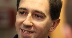 Simon Harris, Minister of the year: he's been impressively combatant, competent and confident all year. Photograph: Stephen Collins/Collins Photos
