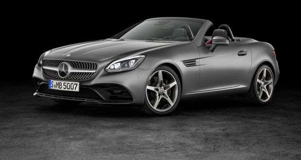 Mercedes Benz Slc 300 The Sporty Lower End Model Of New