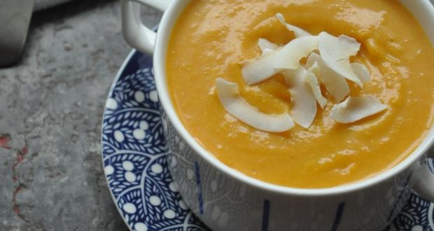 Give Me Five Butternut Squash And Coconut Soup