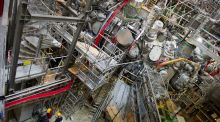 A nuclear fusion research centre at the Max-Planck-Institut for Plasma Physics in Germany. Photograph: Stefan Sauer/EPA