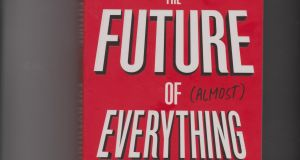"""The future of (almost) everything"" is written by Patrick Dixon, and is priced €14.99"