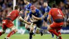 Leinster's Josh van der Flier impressed in both Champions Cup games against Toulon. Photograph:  Dan Sheridan/Inpho