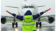 Ryanair was also down 0.5 per cent, closing at €15.07. Photograph:  Alan Betson