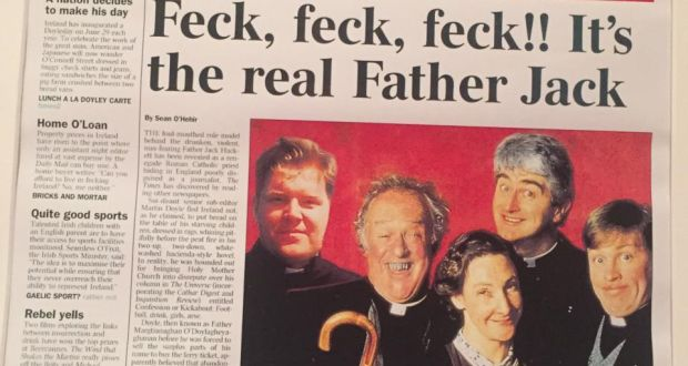 Father ted christmas gift