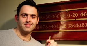 Snooker player turned crime writer Ronnie O'Sullivan